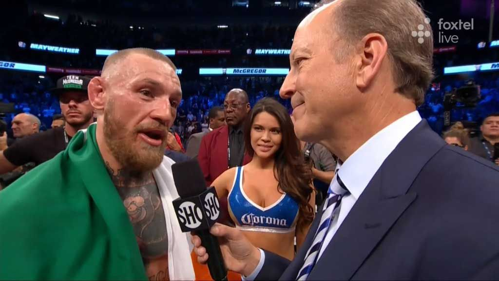 McGregor wanted the fight to continue