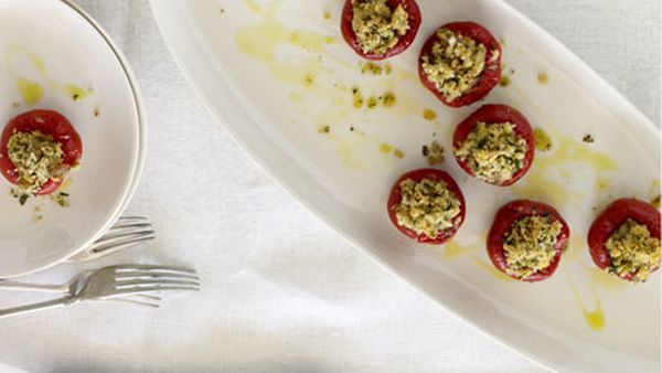 Eugenio Maiale: Peperoni ripieni di tonno (peppers stuffed with tuna)