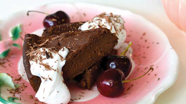 Hayley Cavicchiolo's rich chocolate cake (refined sugar-free, dairy-free and gluten-free) for Well Naturally