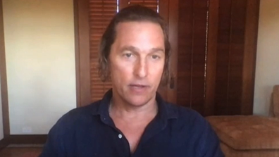 Matthew McConaughey describes what quarantine has been like for him.