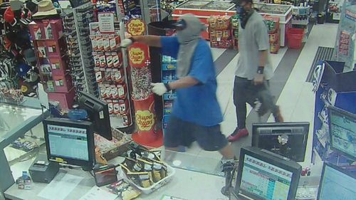Gold Coast businesses have been targeted by armed robbers and break-ins in recent weeks.
