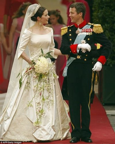 Prince Frederik and Princess Mary's wedding, May 14 2004