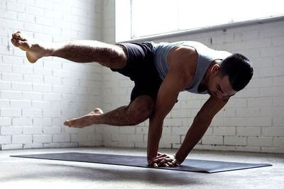 Yoga benefits men as much as women