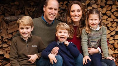 The Duke and Duchess of Cambridge's 2020 Christmas card, December