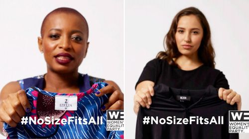 #NoSizeFitsAll campaign encourages women to challenge clothing size taboo