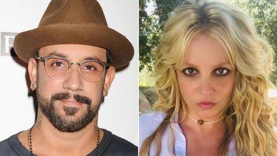 AJ McLean and Britney Spears.