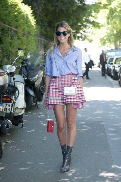 <p>Want some print in your wardrobe this Spring but not a fan&nbsp;of the bold florals on offer? Take inspiratrion from these street stylers who&nbsp;prove that checks, plaids and tartans in every shape and form make for an ideal&nbsp;seasonal alternative.</p>