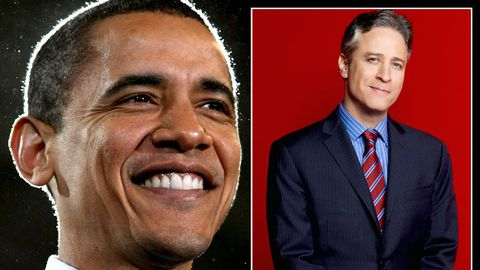 President Obama will be on The Daily Show