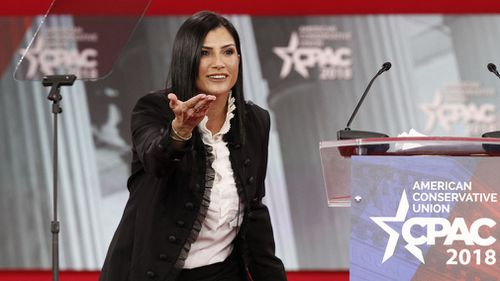 NRA spokeswoman Dana Loesch. (AAP)
