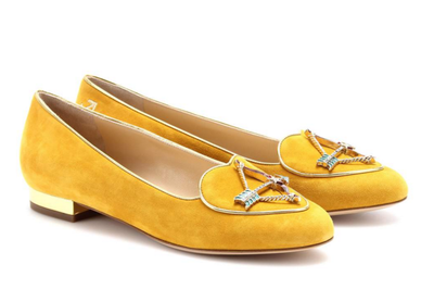 """<a href=""""Loafers, $527, Charlotte Olympia at MyTheresa.com"""" target=""""_blank"""">Loafers,$527, Charlotte Olympia at MyTheresa.com</a>"""