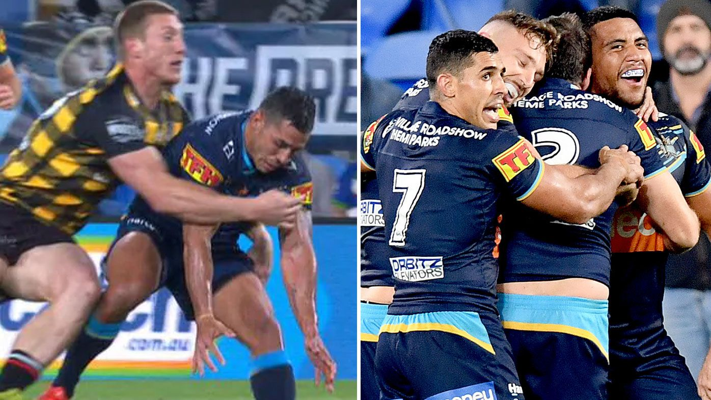 Controversial bunker decision costs Warriors as Titans break home win drought