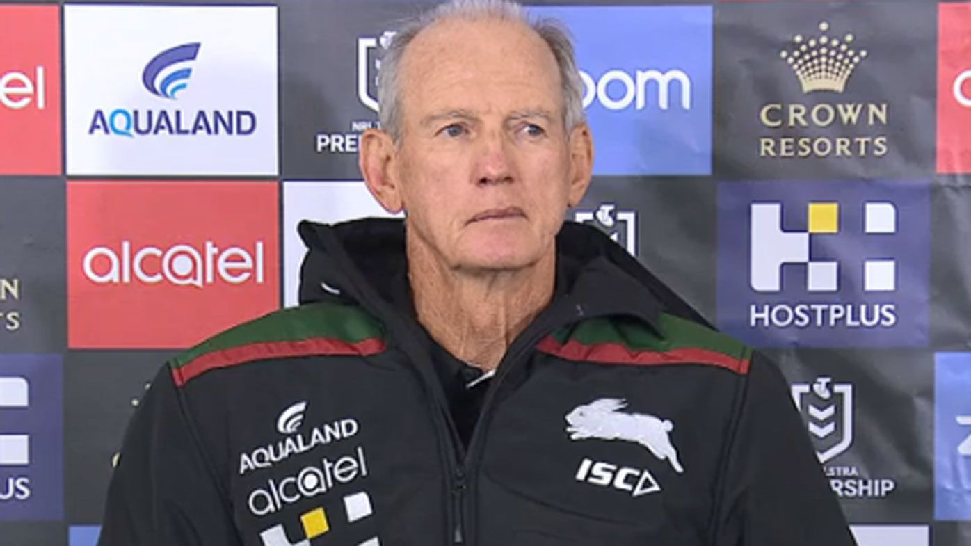 Wayne Bennett says benching Latrell Mitchell was always 'the plan' after close win over Sharks