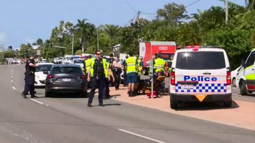 Teenagers charged after police officer injured in Townsville car chase