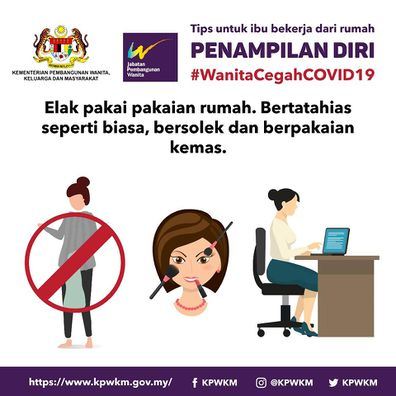 Malaysian government criticised for sexist posters amid coronavirus.
