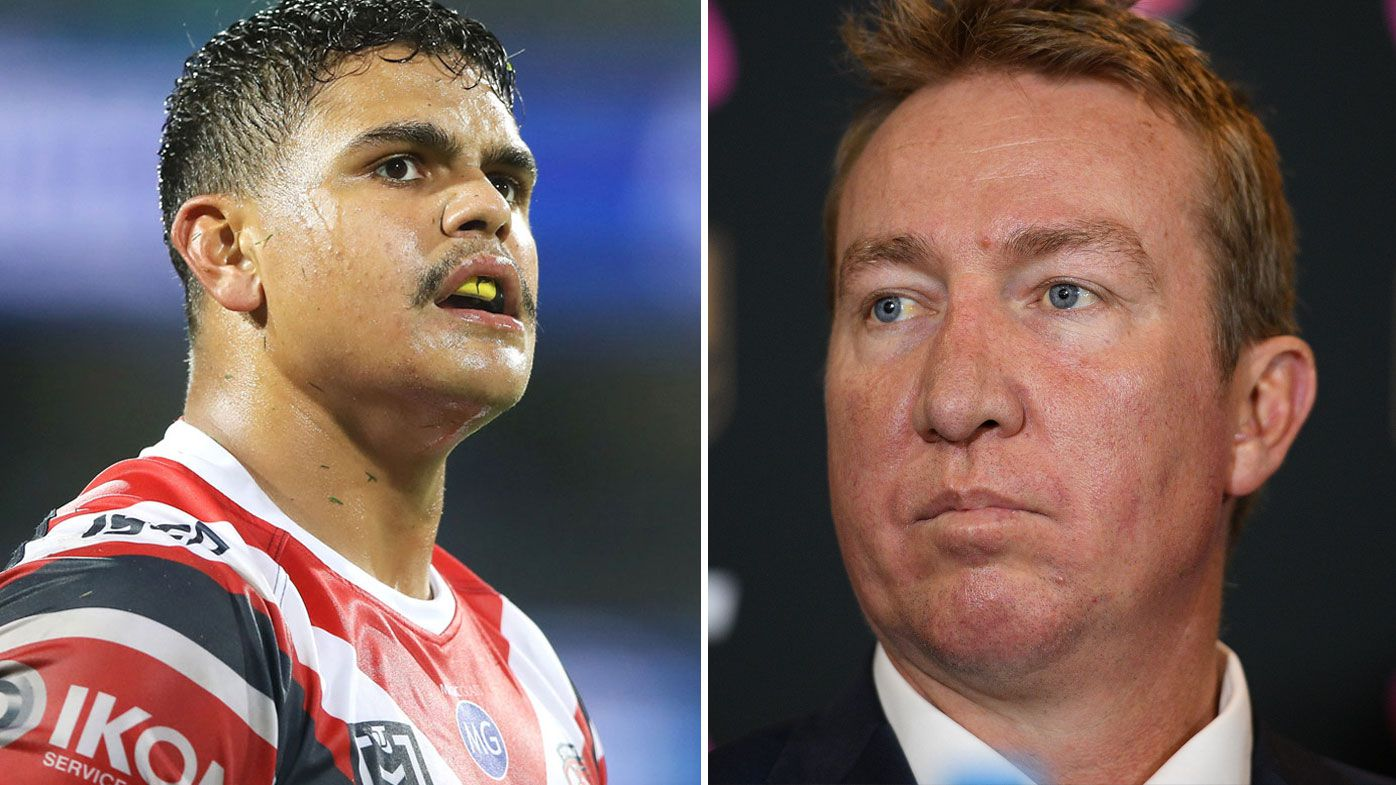 'He's got a fire in him that wants more': Roosters coach Trent Robinson breaks silence on Latrell Mitchell Rabbitohs rumours