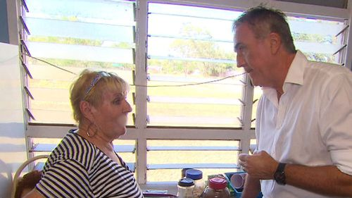 Fran Hodgetts told A Current Affair she's been under house arrest and her property searched numerous times. Picture: ACA