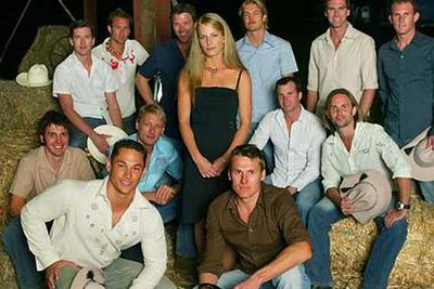 2004: An Aussie girl looking for love was placed in a house with a group of single guys. The catch was, half the guys were gay - but pretending to be straight. The girl's challenge was to spot the gay guys and eliminate them. If the man she chose at the end turned out to be heterosexual, then the two of them would split the prize money. If the man turned out to be gay, then he'd get all the cash and she'd go home empty handed.<br/><br/>She picked a straight guy called Chad.