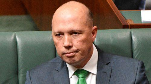 Immigation Minister Peter Dutton.