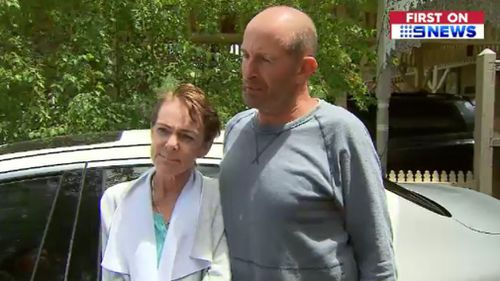 Mrs McElligott and her husband confronted the alleged intruders. (9NEWS)