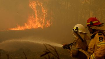 Fires continue in Old Bar NSW
