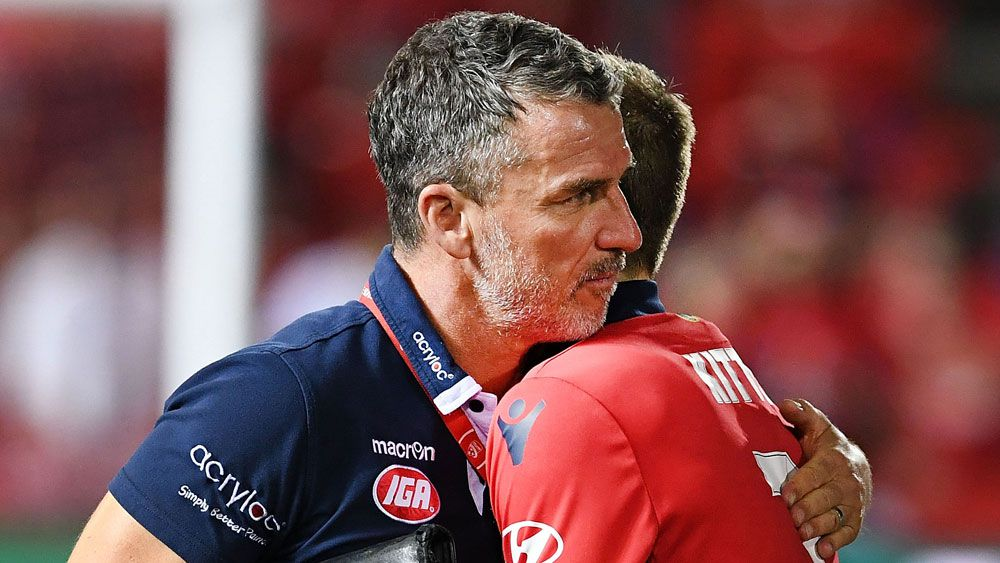 Adelaide United coach Marco Kurz is in love with his players after beating Perth Glory