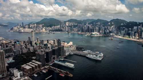 Hong Kong announces plan to build artificial islands to ease overcrowding
