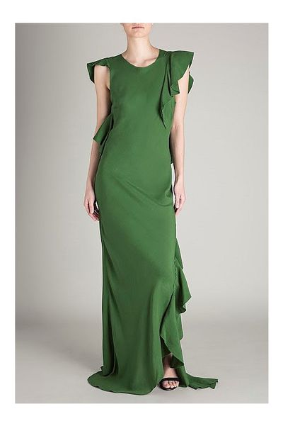 "<p>The drama major.</p> <p><a href=""http://www.biancaspender.com/introducingspring16/163730.5000/JADE-CREPE-L'OPERA-GOWN.html"" target=""_blank"">Bianca Spender</a>&nbsp;crepe l&rsquo;opera gown, $890<br /> </p>"