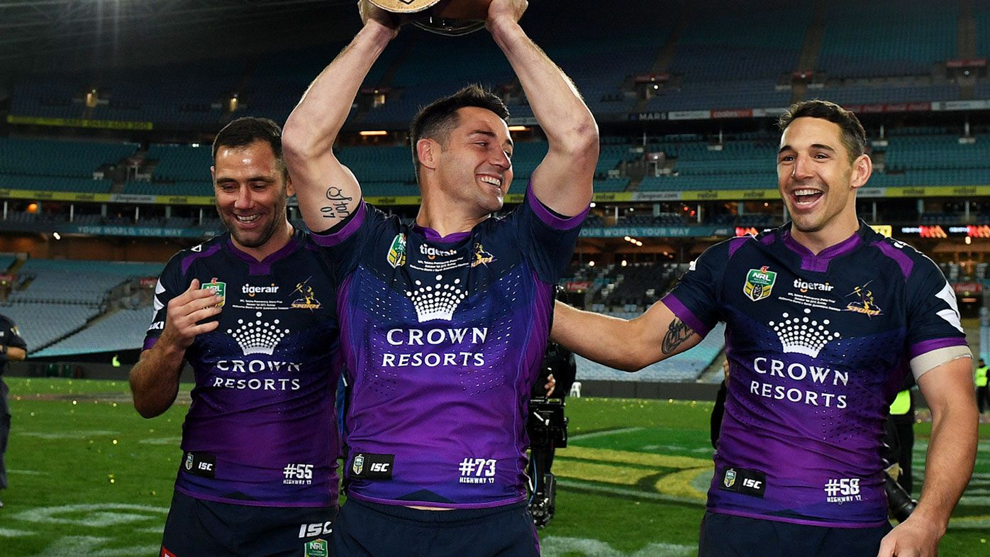 Cameron Smith, Cooper Cronk and Billy Slater