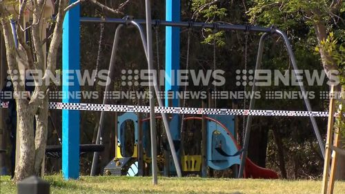 A body, believed to be of a woman, has been found in a park on Sydney's north shore.