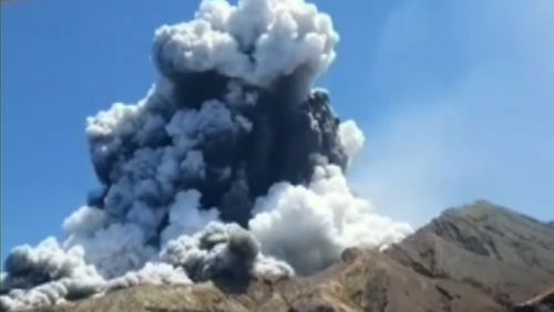 Six people have died and dozens others were injured after a volcano erupted on New Zealand's White Island.