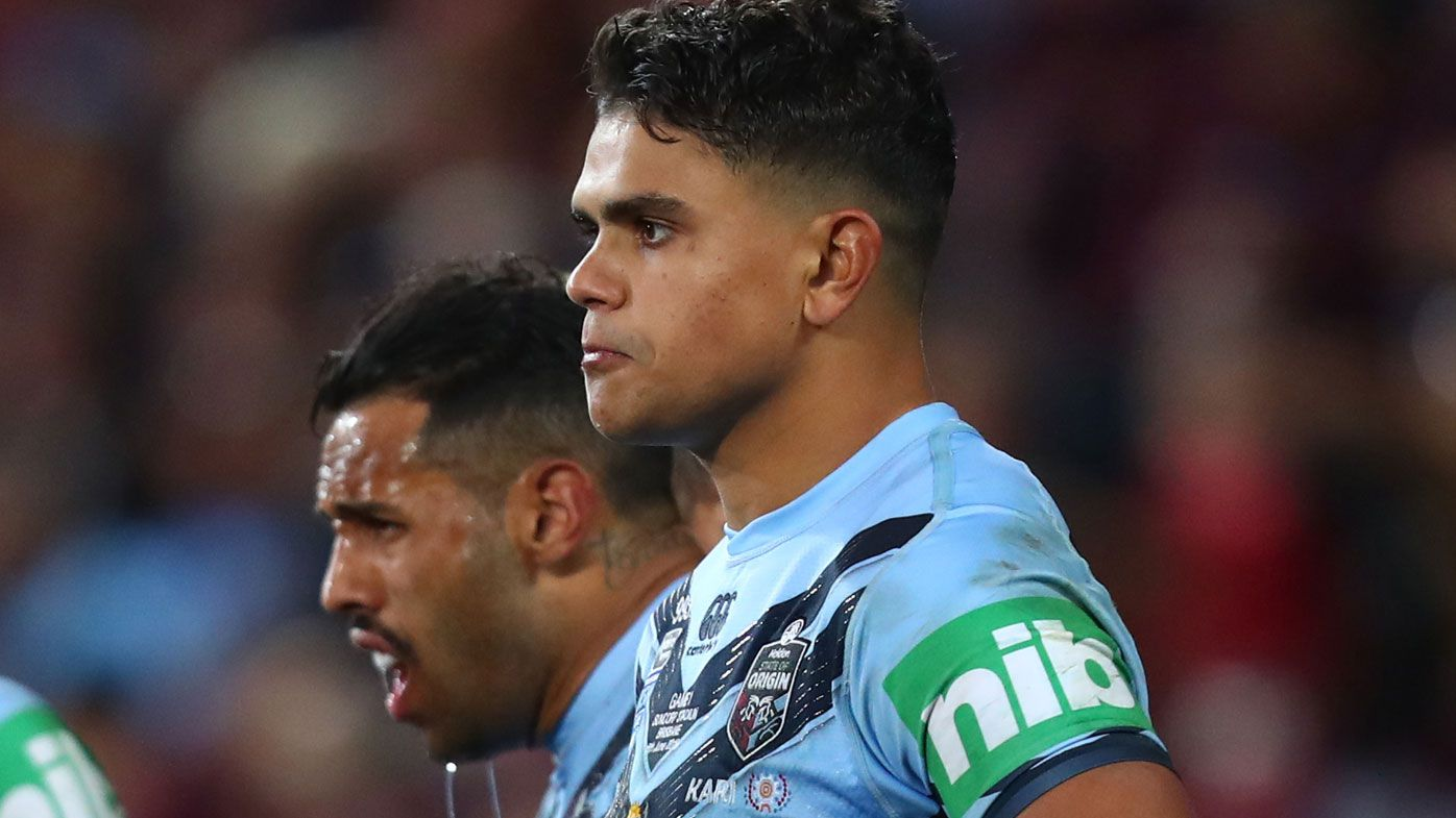 Latrell Mitchell not expected at Blues camp as speculation builds over NRL future