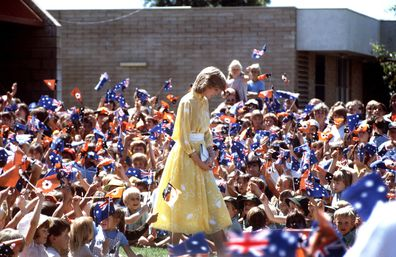 the crown season 4 real life photos from charles and diana s australian royal tour 9honey australian royal tour