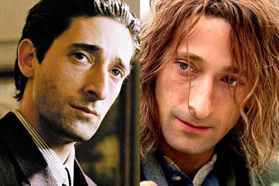 <B>Oscar winner:</B> <I>The Pianist</I> (2002). He plays the piano (er, that is, he plays a man who <I>plays</I> a piano) in his role as a man living in Poland under the rule of the Nazis. Brody's virtuoso performance shines, bringing to life moments both uplifting and rife with suffering.<br/><br/><B>Stinker:</B> <I>The Village</I> (2004). Playing the developmentally challenged stab-happy Noah Percy in the double-twist M. Night film while still running high on an Oscar win was a pretty bad move.