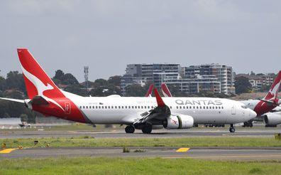 Qantas Adelaide to Sydney.