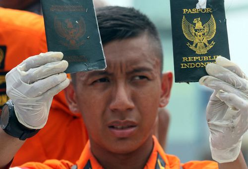 Passports of some of the passengers have been recovered.