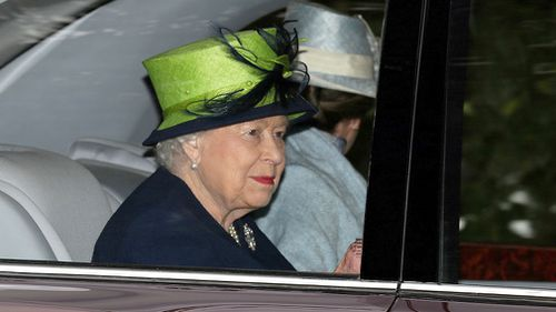 Police, who did not say whether the Queen was at the palace at the time, said the arrest was not terror-related.