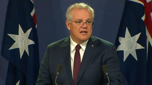 Scott Morrison addresses media in Sydney