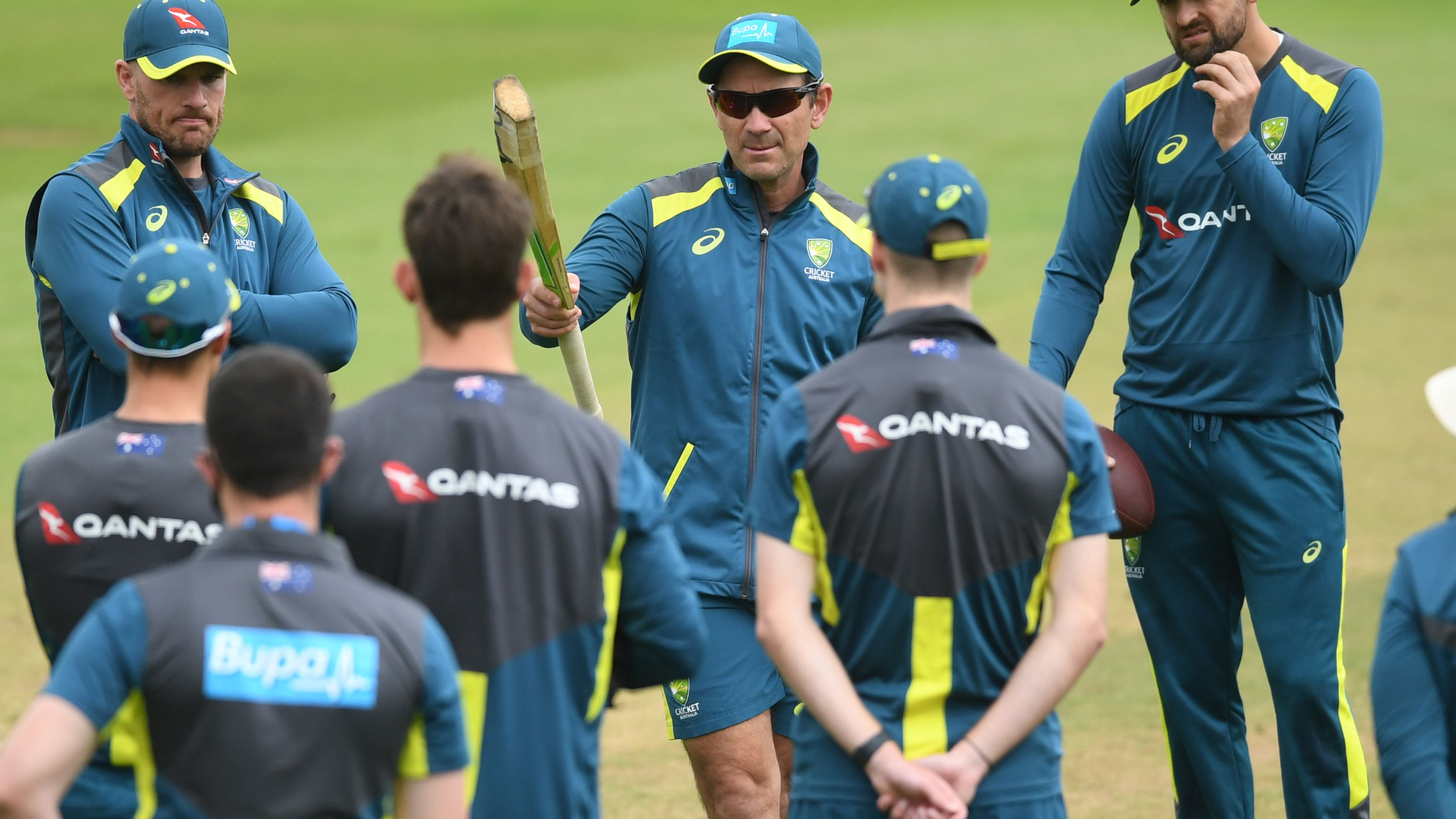 Australia coach and selector Justin Langer.