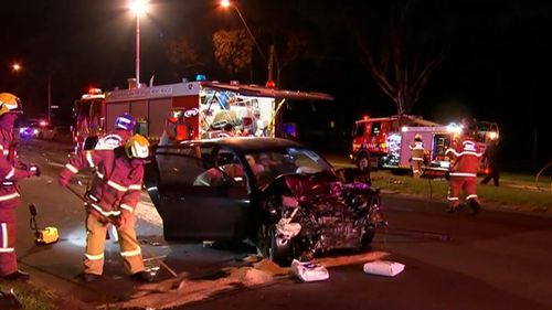 Mr Currie's Mazda may have been travelling up to 130km/h when it 'T-boned' another vehicle.