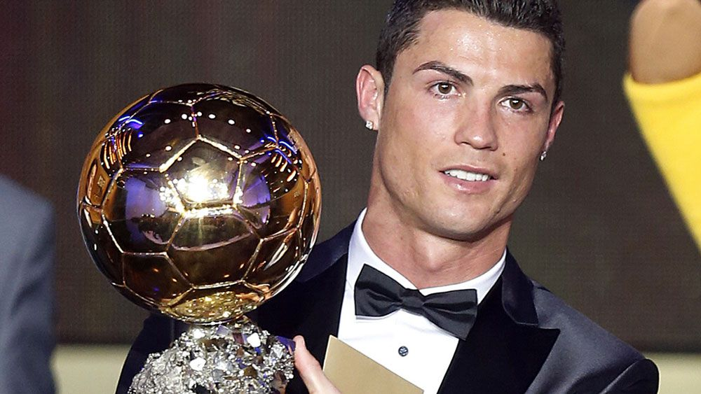 Ronaldo wins FIFA's player of the year