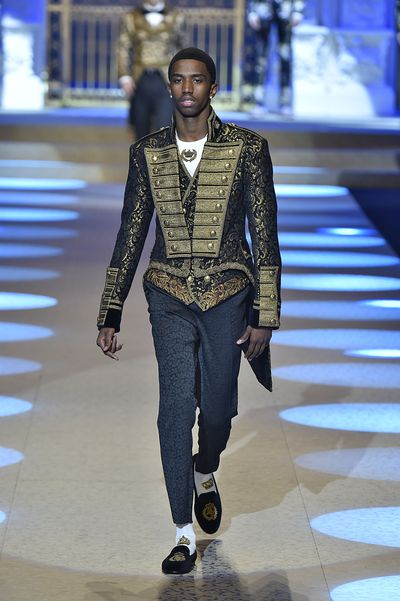 <p>Who: Christian Combs</p> <p>The son of legendary rapper Sean ' P. Diddy' Combs. </p> <p>Following two runway appearances for Dolce & Gabbana,Christian has just taken off as an artist in his own right to watch in the music industry. </p>