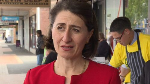 Premier Gladys Berijiklian said the government had a number of projects in the works. (9NEWS)