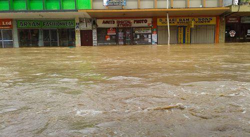 Cyclone Josie was located 120 kilometres west of Kadavu Island. (Facebook)