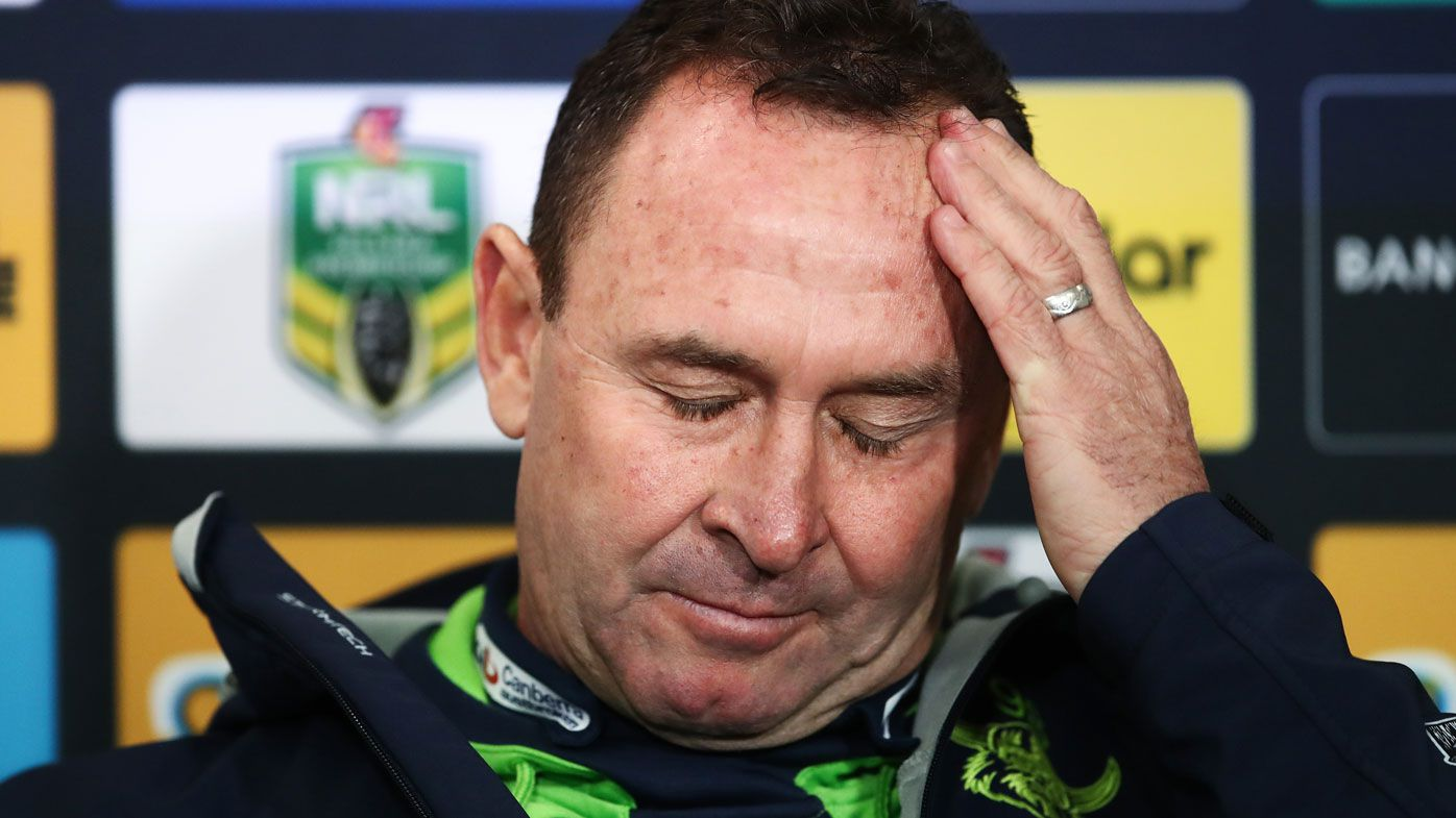 NRL apologises for referee blunder in Raiders' loss