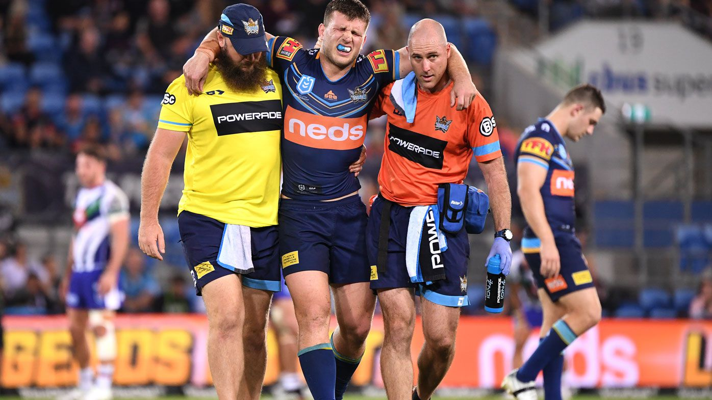 Jai Arrow in doubt for State of Origin II after suffering injury in loss to Warriors