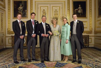 Prince William and Prince Harry's step brother and step sister