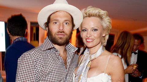 Rick Salomon and Pamela Anderson