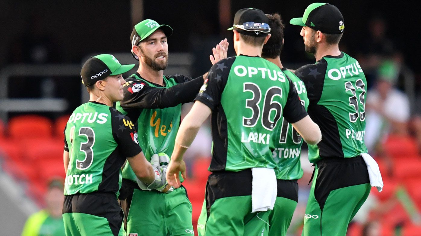 BBL: Melbourne Stars cruise to big victory over Sydney Thunder