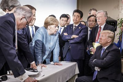 <strong>G7 showdown, June 9</strong><br>