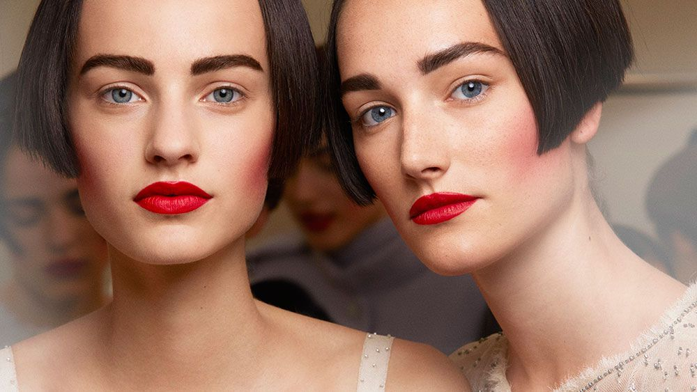 Haute couture beauty trend report